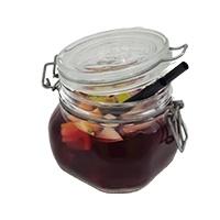 Glas sangria rood - €4,95